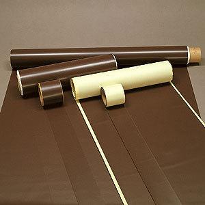 ゴムマグネット原反 粘着剤付 0.8×100×10m (安全用品・標識/標識・看板素材)