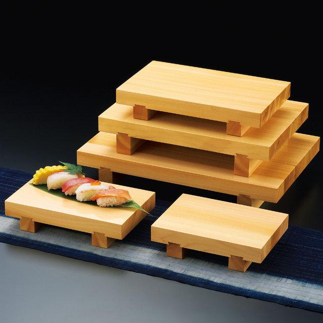 檜・本柾盛台 (H-150) [W32206](盛皿・盛込・盛台/盛台・盛皿)