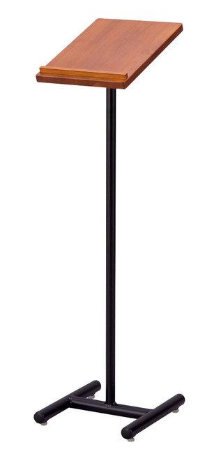 COMBI スリム記帳スタンド タテ型 A4タイプ ミディアムブラウン [W50541](スタンド看板・サイン)