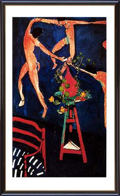 【送料無料♪】アートポスター 「ダンス オブ ナスタチウム」 アンリ・マチス作(ポスターフレーム/画家名別アートポスター/ア行/アンリ・マチス アート作品)