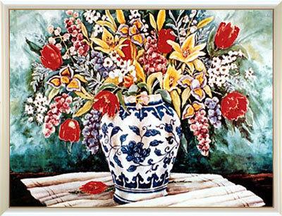 【送料無料♪】アートポスター 「レッド チューリップ」 ヘレン・ポール作(ポスターフレーム/画家名別アートポスター/ハ行)