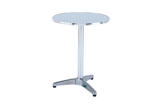 【送料無料♪】アルミテーブル (600) (店舗用品/運営備品/ガーデン用品/ガーデンテーブル・チェア (木製)・(金属製))