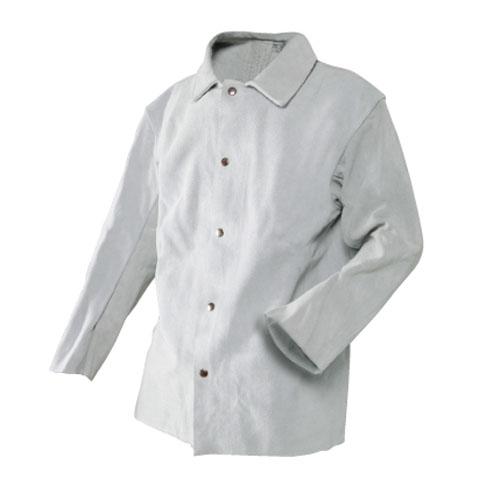 革製保護具 シモン 牛床革 無地袋入り 熱に強い 高耐久 1着入り 204上衣 L/LL/3L/4L