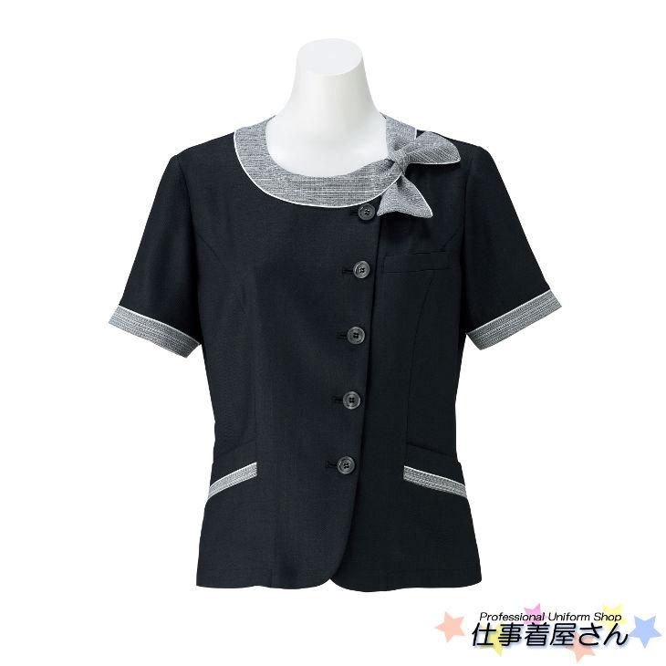 日本製ならではの意匠美が放つこだわり素材のソフトジャケット【BONMAX】【企業オフィス制服・事務服】【BONOFFICE】【大きいサイズ】【17号~19号】lj0766