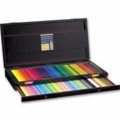 【取寄品】【ホルベイン】 アーチスト色鉛筆100色セット/基本色(木箱入) OP941