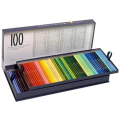【取寄品】【ホルベイン】 アーチスト色鉛筆100色セット/基本色(紙函入) OP940