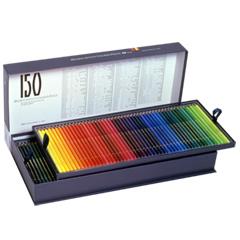 【取寄品】【ホルベイン】 アーチスト色鉛筆150色セット/全色 (紙函入り) OP945