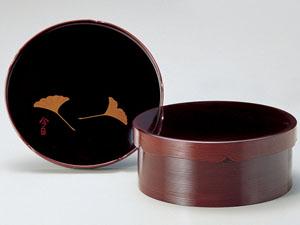 【越前漆器】 千歳盆 溜/漆器・おもてなし・茶道具・お茶会