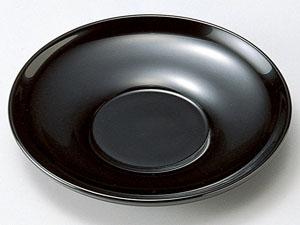 【越前漆器】 4.0茶托 黒 5枚組 /漆器・おもてなし・御祝・ご祝儀・ギフト・贈り物・お茶会・茶托
