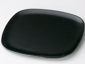 【越前漆器】 胴張銘々皿 黒 5枚セット/漆器・おもてなし・御祝・ご祝儀・ギフト・贈り物・お茶会・御祝返し・御礼・銘々皿
