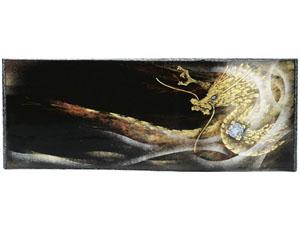【越前漆器】 龍 パネル 黒/漆器・プレゼント・贈り物・ギフト・御祝・御礼・退職・外国・海外へのお土産