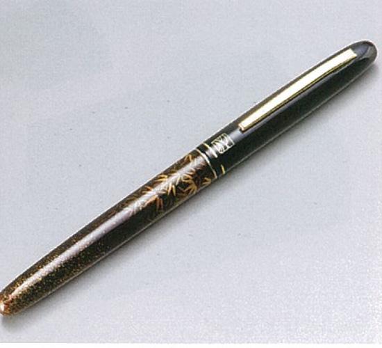 【越前漆器】 竹林高上 万年毛筆 /漆器・プレゼント・贈り物・気持ち・御祝・御礼・退職・外国