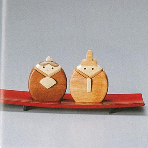 【越前漆器】ひな人形/漆器・プレゼント・贈り物・気持ち・御祝・御礼・退職・外国