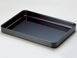 【越前漆器】 2尺賞状盆 木製 黒