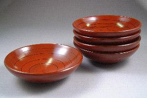 【送料無料】うず鉢 5個ギフトセット 贈答品・内祝用(名入れなし)お返し・取り皿・スープ皿