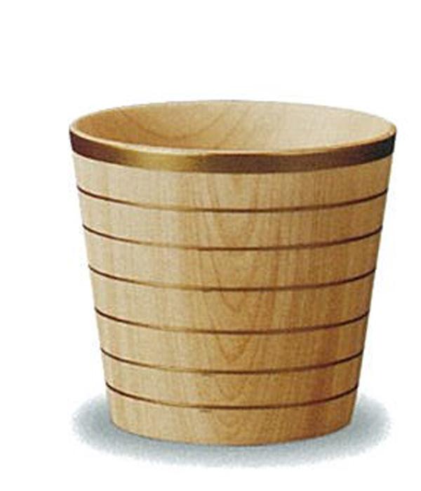 【木製漆器】しっとりカップ STナチュラル 金線(S) 漆塗・漆器・カップ・スプーン・お皿・ギフト・プレゼント・御祝