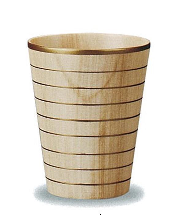 2020年春の 【木製漆器】しっとりカップ STナチュラル 金線(L) 漆塗・漆器・カップ・スプーン・お皿・ギフト・プレゼント・御祝, 宮古郡 d28a8dc7
