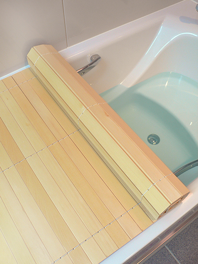 Bath Cover Wooden Forest Bathing Us Hiba Bath Lid Tree To Be Able To Wind Up From Country