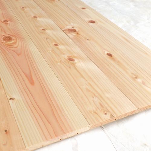 床材 フローリングパネル 無垢 檜 節有ヨロイカブトベーシック床用「プレーン」(長さ2,865mm×巾910mm)国産 桧 フローリング材 板 ヒノキ ひのき 無塗装