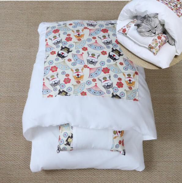 送料無料 洗濯可能 ふわふわ 可愛いペットの布団 ネコ用 ペットの布団 猫 猫用 ねこ 発売モデル 暖かい布団 おもしろい ネコ 冬 クリスマス 犬 布団 メーカー公式ショップ コスチューム