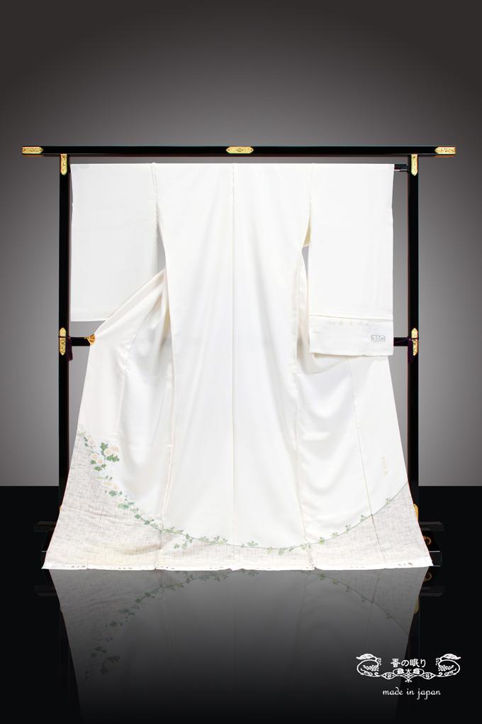 着物 きもの   寿光織 謹製 縫取   名画紀行