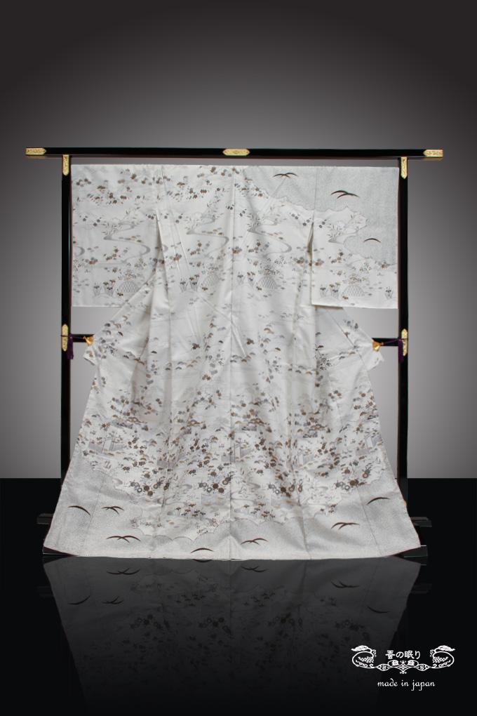訪問着 ほうもんぎ | 京都老舗 千切屋 謹製 | 絹