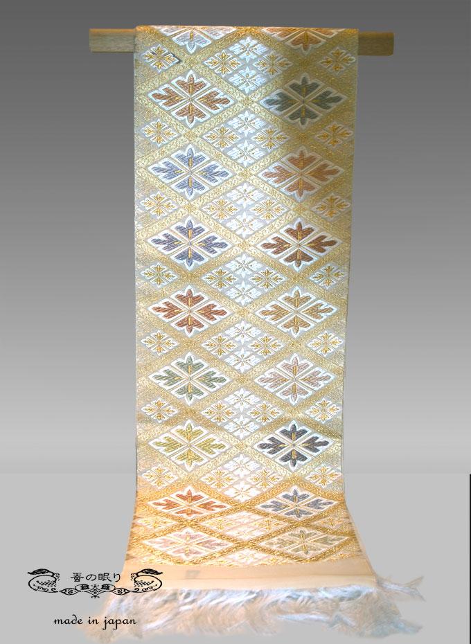 袋帯 ふくろおび | つづれ地 唐織 絹
