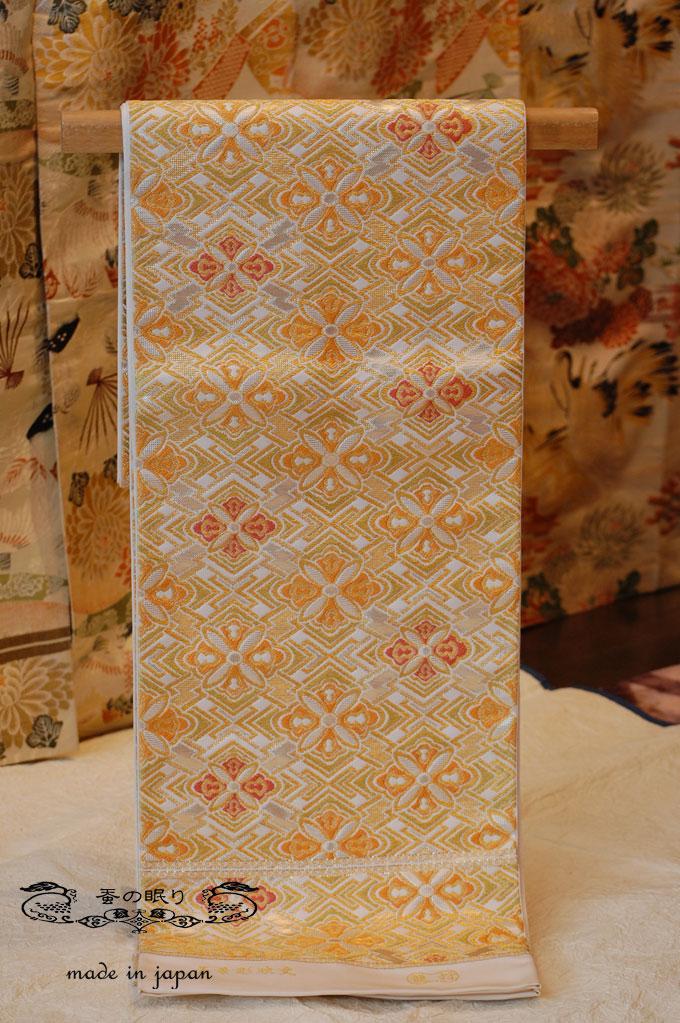 袋帯 ふくろおび | 龍村美術織物 | 菱華彫映文
