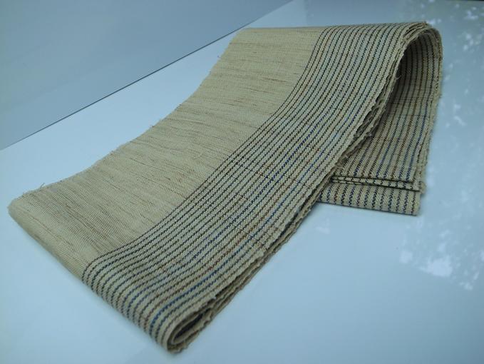 [石川県指定無形文化財]能登上布 半巾帯