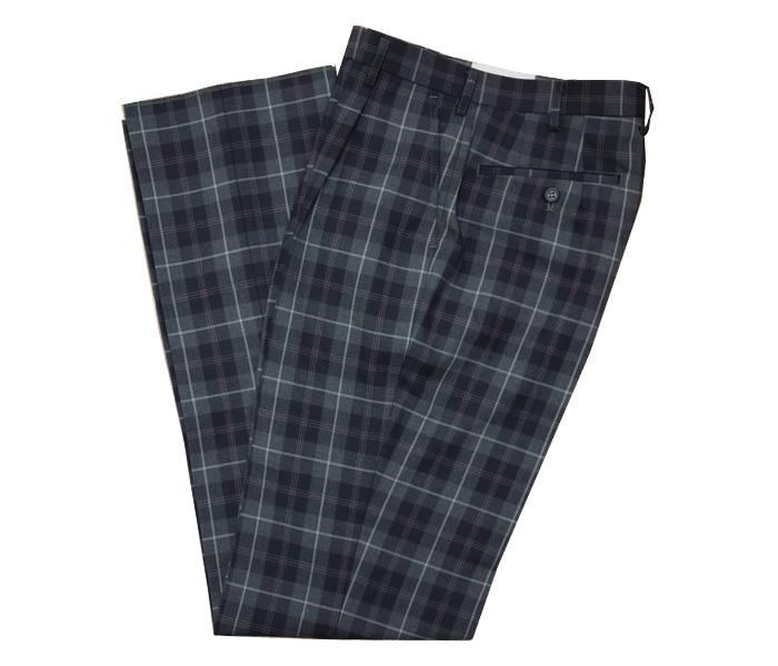 [Kanko]カンコー学生服 [youth line]ユース ライン / 大柄チェックスラックス / ブレザー用スラックス / GLAY