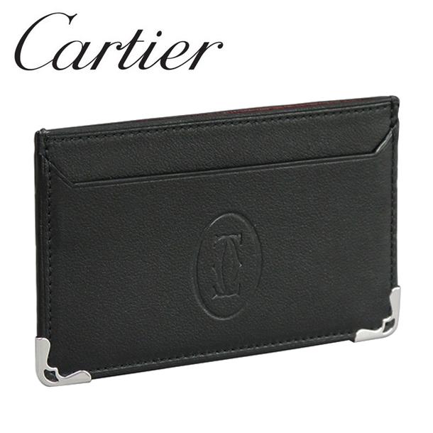 カルティエ カードケース パスケース カードホルダー ブラック マスト・ドゥ・カルティエ L3001425 Cartier[カルティエ]