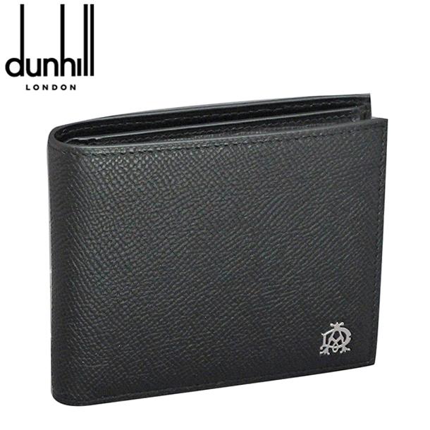 ダンヒル 折り財布 ブラック ボードン L2X232A