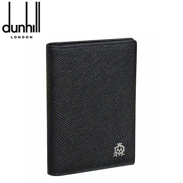 新品 ラッピング無料 カードケース dunhill ダンヒル L2X247A 高額売筋 正規認証品!新規格 ブラック ボードン パスケース