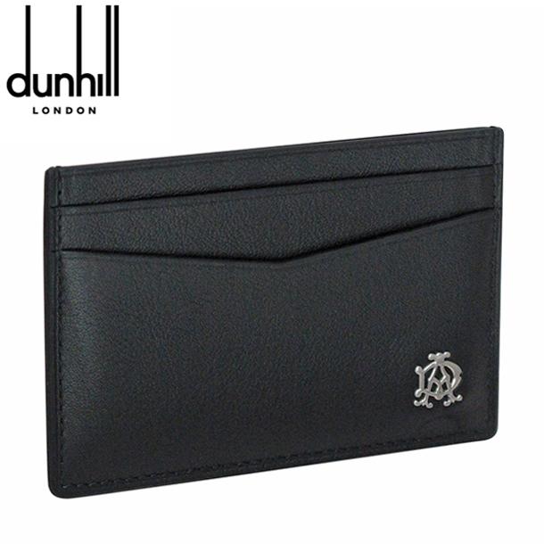 ダンヒル カードケース/パスケース ブラック リーブス L2XR40A