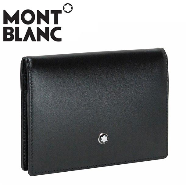 モンブラン カードケース/パスケース ブラック MEISTERSTUCK 107443 MONTBLANC
