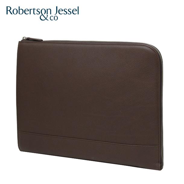 ロバートソン ジェッセル クラッチバッグ ブラウン L102