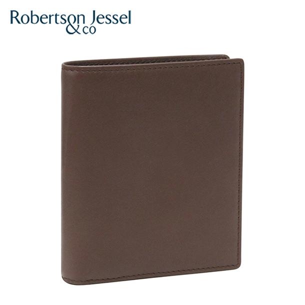 ロバートソン ジェッセル 折り財布小銭入れなし ブラウン S11001