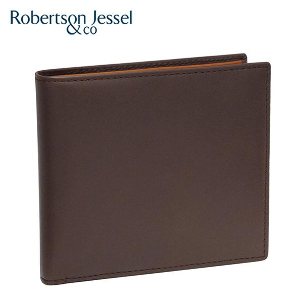 ロバートソン ジェッセル 折り財布 ブラウン×スコッチ(ライトブラウン) S11005