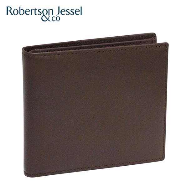 ロバートソン ジェッセル 折り財布小銭入れなし ブラウン S11004
