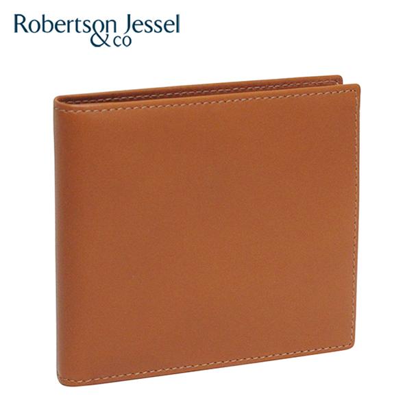 ロバートソン ジェッセル 折り財布 スコッチ(ライトブラウン) S11005