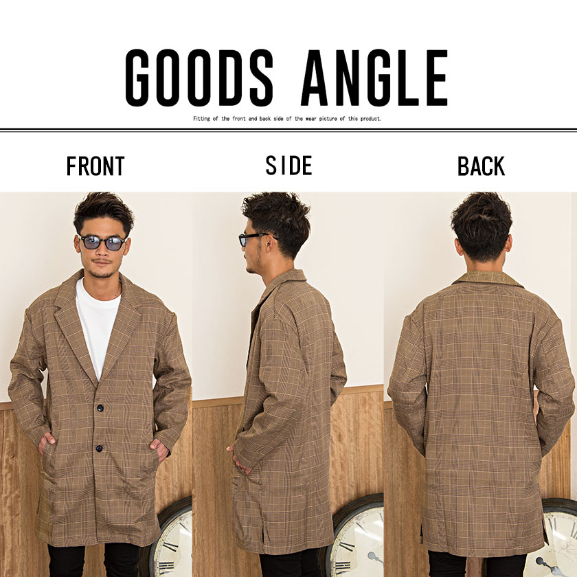 All two colors of jacket coat men
