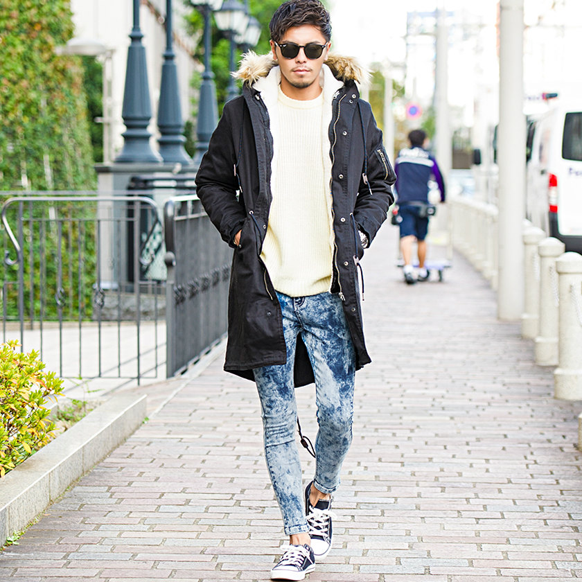 Silverbullet All Three Colors Of Denim Skinny Pants Men Jeans