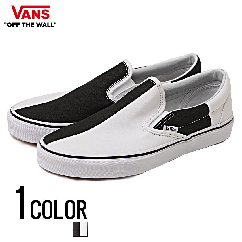85f513788e77 SILVERBULLET  All one color of vans sneakers men shoes slip-ons