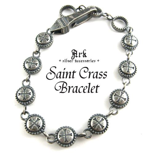 [ Ark silver accessories / アークシルバーアクセサリーズ ] セイントクロスブレスレット 【 送料無料 】 ★ クーポン