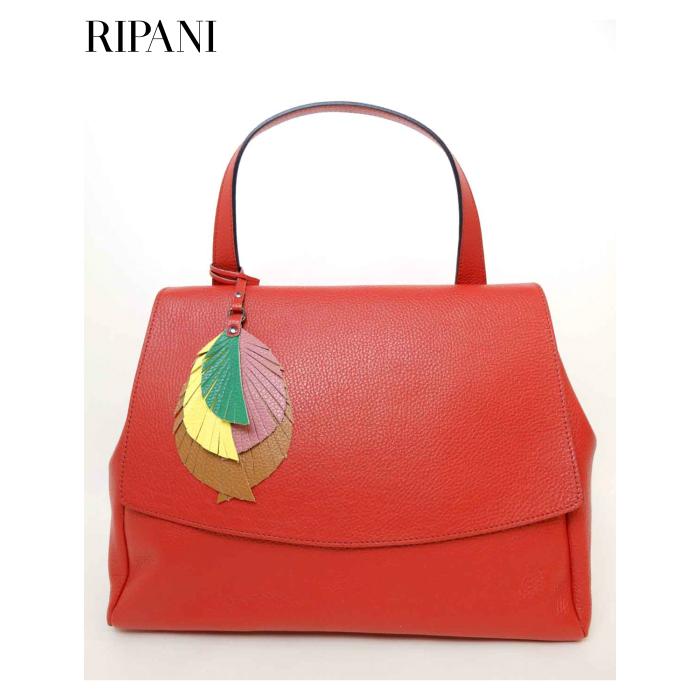 RIPANI(リパーニ) 牛革シュリンク ワンハンドル フラップトートバッグ