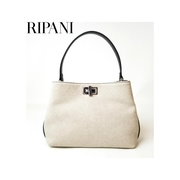 RIPANI トップハンドルバッグ(小)