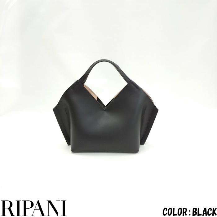 RIPANI (リパーニ) 牛床革2WAYバッグ