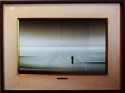 吉村保三 「失われた時-マルセルプルーストに捧ぐ」 油絵(キャンバス・油彩) 10号  額装