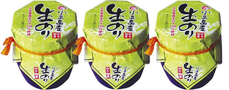 佃煮 老舗 小豆島産 【生のり 3本】 つくだ煮 食べ応え十分!たっぷり楽しめる!