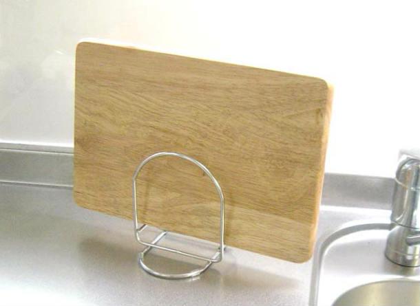 新作 人気 供え あの老舗シミズのまな板立てがで買える 18-8ステンレス製 まな板立てシンプルデザインのマナ板立てまな板スタンド